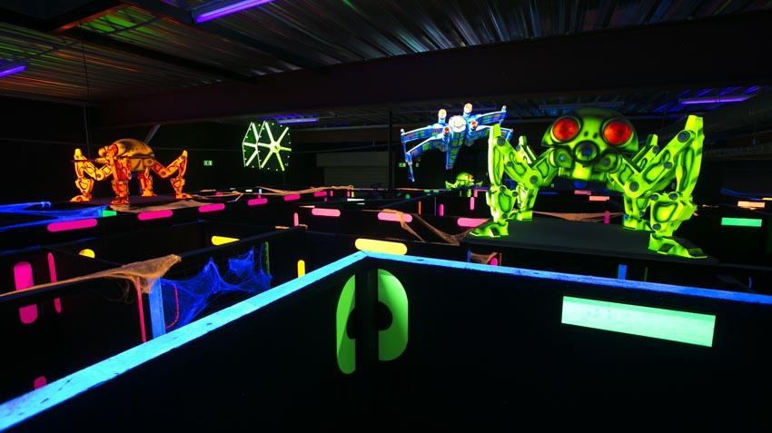 Diseño e instalación de Laser Game