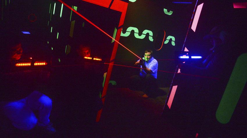 Fabricación de lasertag