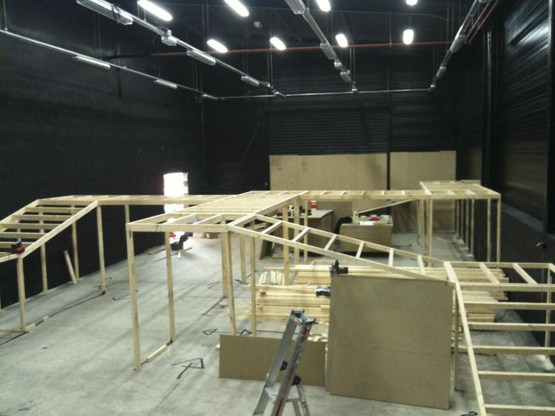 Construction d'un labyrinthe Laser Game